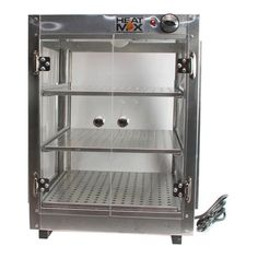 Commercial 18 x 18 x 24 Countertop  Food Pizza Pastry Warmer Display Case