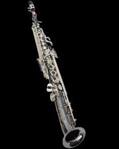 Cannonball SA5-BS Big Bell Stone Series Pro Arc Soprano Sax - black nickel/silver plating  $2379