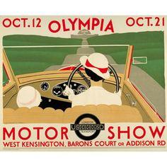 Olympia Motor Show - Andre Edouard Marty (1933)