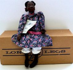 Daddys Long Legs Doll PHOEBE KVK INC 1992 Collector Doll Collectible Doll NIB