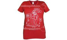 """T-shirt coton biologique et bambou Les champs d'ail pour femme """"Sa majesté féline"""" chat Champs, Coton Biologique, Shirt Dress, Mens Tops, Fashion, Bamboo, Cotton, Woman, Moda"""