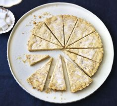 This zesty teatime shortbread from BBC Good Food reader Jo Foster has a beautiful crumbly texture, plus zingy lemon and warming ginger flavour