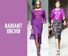 Radiant Orchid #coloroftheyear #radiantorchid #maxmodels