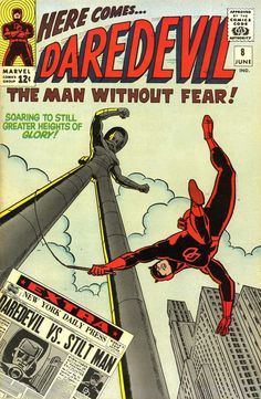 Daredevil #8, June 1965, cover by Wally Wood