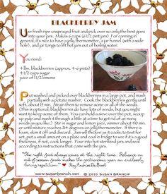 pp:    Susan Branch    Blackberry Jam