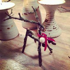 twig reindeer.