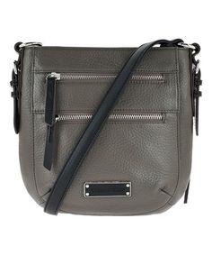 Storm Leather RFID Crossbody Bag #zulily #zulilyfinds