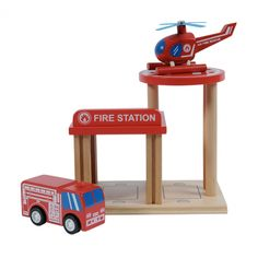 Emergency services to the rescue...! Portable, compact and guaranteed to provide hours of entertainment - just the way all kids toys should be! Tiger Tribe Fire Station Kit Pax set will delight - the very best in kids wooden toys! #woodentoys #firetruck #kids #childhood #kidstoys #designerkids #play #learn #create #montessori #learnthroughplay #imagination #childhood #littlebooteekau