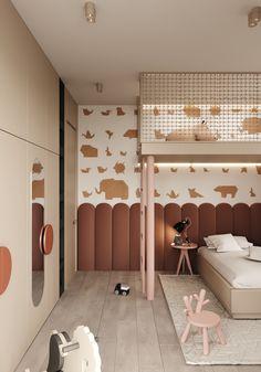Kids Bedroom Designs, Kids Room Design, Modern Kids Bedroom, Room Interior Design, Interior Exterior, Awesome Bedrooms, Girl Room, Kid Spaces, Architecture