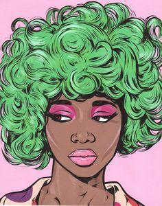 pop art girl tumblr - Google Search                                                                                                                                                                                 More