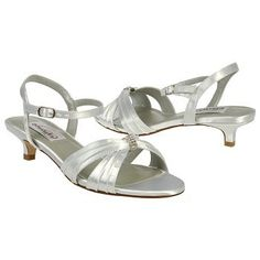 Dyeables Fiesta Shoes (White) - Women's Wedding Shoes - 5.0 B
