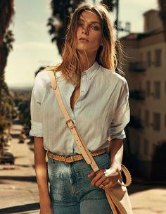 Daria Werbowy for HandM Spring Summer 2015