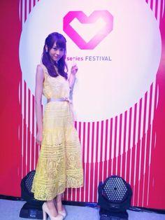 "Mirei Kiritani, ""Visited Jakarta in Indonesia to appear in J series Fes. on Jun. 6, 2015"""