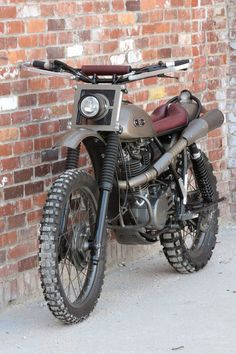 Yamaha XT500 Scrambler - Grease n Gasoline#ZoomOut#ZoomOut