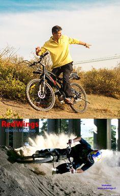 Siente la libertad de utilizartu bicicleta eléctrica Redwings en cualquier camino