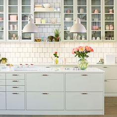 Hvitt, stilrent kjøkken - Bistro | Drømmekjøkkenet