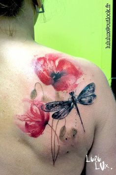 Tattoo concepts for women and girls and for many who love physique artwork! Tattoo artist ....  See even more at the picture  Learn more at  http://www.mytattooland.com/2016/06/dragonfly-tattoo-ideas.html?m=1
