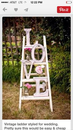 Ladders used for simply displays...