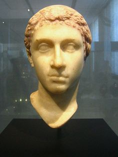 """The """"Berlin Cleopatra"""" This marble bust, now in Berlin, is accepted as one of the few accurate depictions of Cleopatra VII."""