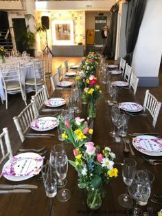 Wedding Flowers Liverpool, Merseyside, Bridal Florist, Booker Flowers and Gifts, Booker Weddings Tulip Wedding, Spring Wedding Flowers, Flowers In Jars, Bright Flowers, Wedding Table Centerpieces, Centrepieces, Top Table Ideas, Flower Girl Wand, Bright Spring