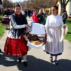 Traditional Easter celebrations in Ópusztaszer, Hungary Hungary Food, Lace Skirt, Sequin Skirt, Hungarian Girls, Easter Traditions, Easter Celebration, Traditional Outfits, Girls Dresses, Celebrations