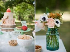 Peaches and Cream Inspiration by BRC Photography