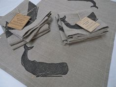 """Spool + Sparrow is a one-woman textile design and production studio in Seattle, WA. Shop owner Julie Lyderson-Jackson creates natural fiber home decor, wearables & accessories influenced by a rustic and utilitarian-inspired esthetic. Her designs are made from renewable, sustainable-crop fibers including linen, hemp, organic cotton and soy. Carved-block printing, a variety of fabric manipulation techniques and up-cycled leather belts feature heavily in her current collection. Check her out…"