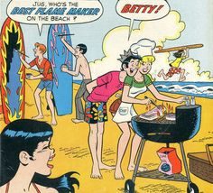 "bughead-in-the-comics: ""From Jughead "" I mean, I know Jughead is there for the food, but don't they look cute? Jughead Comics, Archie Jughead, Archie Comics Characters, Archie Comic Books, Archie Comics Riverdale, Bughead Riverdale, Riverdale Memes, Betty Comic, Riverdale Betty And Jughead"