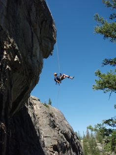 Repelling in the Tetons