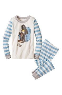 Hanna Andersson 'Stars Wars™ Reads' Pajamas (Little Boys & Big Boys) available at #Nordstrom