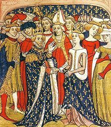 Philippe III (1245 - 1285). Son of Louis IX and Margaret of Provence. He married twice and had children.