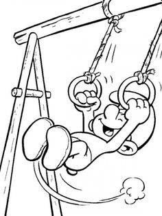 smurf coloring pages picture 2 550x735 picture