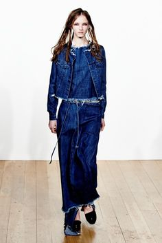 #2013SpringSummerCollection by #MarquesAlmeida #RepairTrend #TheTrendBoutique. For our Repair trend report: http://www.thetrendboutique.co.uk/spring-summer-2013-guide-to-the-season-repair-trend-report/a
