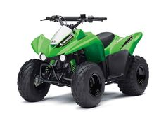 New 2017 Kawasaki KFX 90 ATVs For Sale in Georgia. THE KAWASAKI DIFFERENCETHE KFX®90 ATV PROVIDES THE IDEAL BLEND OF SIZE AND PERFORMANCE FOR RIDERS 12 AND OLDER THAT ARE STEPPING-UP FROM A 50cc ATV OR JUST GETTING STARTED.89cc 4-stroke engine and automatic transmission delivers broad power delivery with plenty of usable torquePush button electric start provides simple and reliable startingParental controls such as an adjustable throttle limiter and CVT collar allow the speed and…