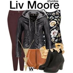 Inspired by Rose McIver as Liv Moore on iZombie.
