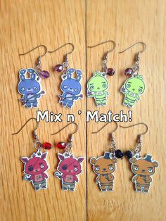 MIX AND MATCH Chibi Five Nights at Freddy's by NerdsIllustrated