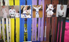 Great idea for a black belt party Have a pic framed for everyone to sign