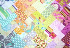 great quilt idea (these are just charms)