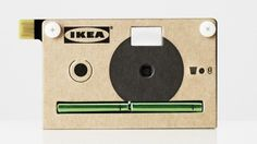 I'm not sure how I feel about the product - but the self-promotion is worthy of a Pin.    __________________________  The KNÄPPA is a a flat-pack cardboard digital camera from IKEA which will be given away in stores to promote the company's new PS 2012 furniture collection.