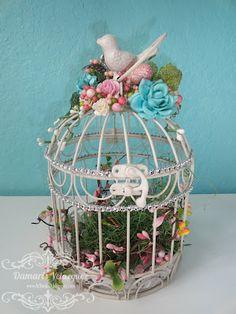 ... At Studio D: Bird Mini Album & Altered Birdcage
