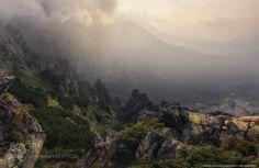Slovakia. High Tatras. Morning on the mountain Predne Solisko by architecturalphotographer via http://ift.tt/2ktRWG3