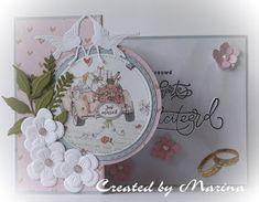 Marianne Design Cards, Wedding Cards, Create, Paper, Image, Scrap, Home Decor, Wedding Ecards, Decoration Home
