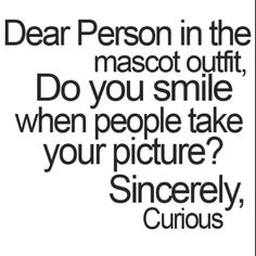 Yes, yes we do! It's a habit! Sometimes we like to make silly faces though!