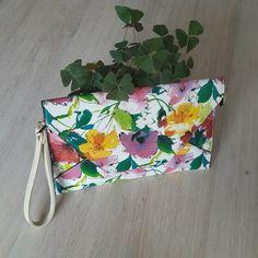 Chantal Milano Flower8 clutch via So Baggy