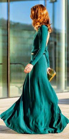 green dress #elegant