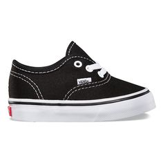 VANS THE AUTHENTIC BLACK (TODDLERS)