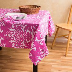 Vintage Royalty Square Cotton Tablecloth