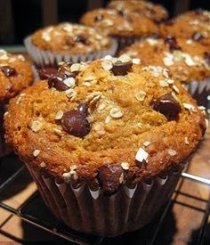 Banana Oatmeal Chocolate Chip Muffins ~~~ another keeper recipe!