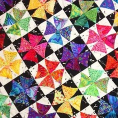 Potential for machine emb quilt using Sweet Pea Design Winding Ways Quilt