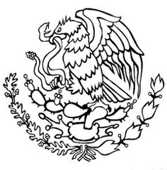 Free Cinco De Mayo Coloring Pages. Color In This Picture Of The Coat Of  Arms Of Mexico And Others With Our Library Of Online Coloring Pages.